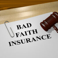 Paper that reads bad faith insurance